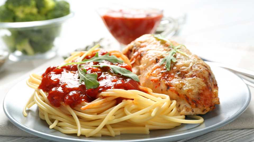 Classic Chicken Parm with Pasta